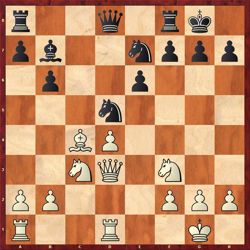 13. Tfd1? war ein klarer Fehler - wie hätte Marcel hier deutlich in Vorteil kommen können?