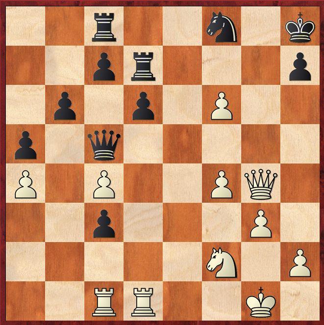 Nach welchem feinen Schlusszug kollabiert die schwarze Verteidigung?